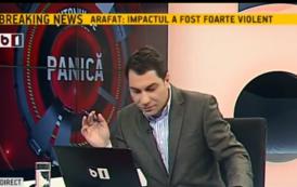 Fostul jurnalist iesean, Catalin Prisecariu, părăsește B1 Tv. Sabin Borcan, fost realizator TV la Tele M, in carti pentru inlocuirea lui Prisecariu