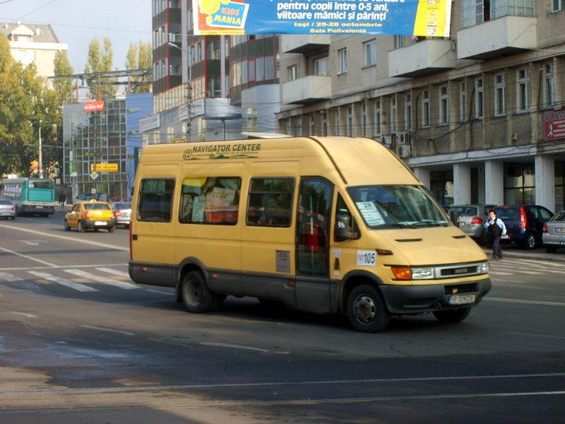 CTP Iasi repune pe trasee microbuzele, pe fondul suplimentarii mijloacelor de transport