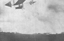 Primul pilot de încercare şi-a lansat planorul în Păcurari