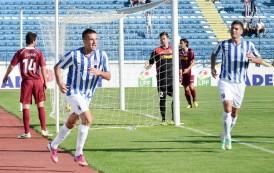 C.S.M.S. Iaşi intalneste pe stadionul din Copou, in aceasta dupa-amiaza, echipa CFR Cluj