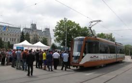 Fara tramvaie prin fata Palatului Culturii. Noi modificări de trasee de tramvai și autobuz in municipiul Iasi