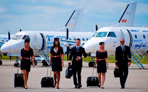 BLUE AIR anunță deschiderea bazei la Aeroportul Iași și lansarea a 5 zboruri directe către Paris, Roma, Barcelona, Bruxelles și Köln