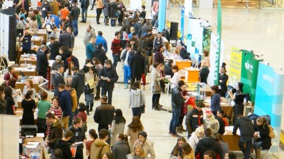 Peste 60 de companii și organizații de recrutare la Târgul de Cariere de la Iaşi