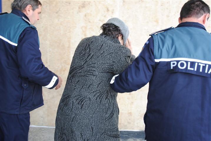 Femeie incarcerata in Penitenciarul Iasi pentru distrugere