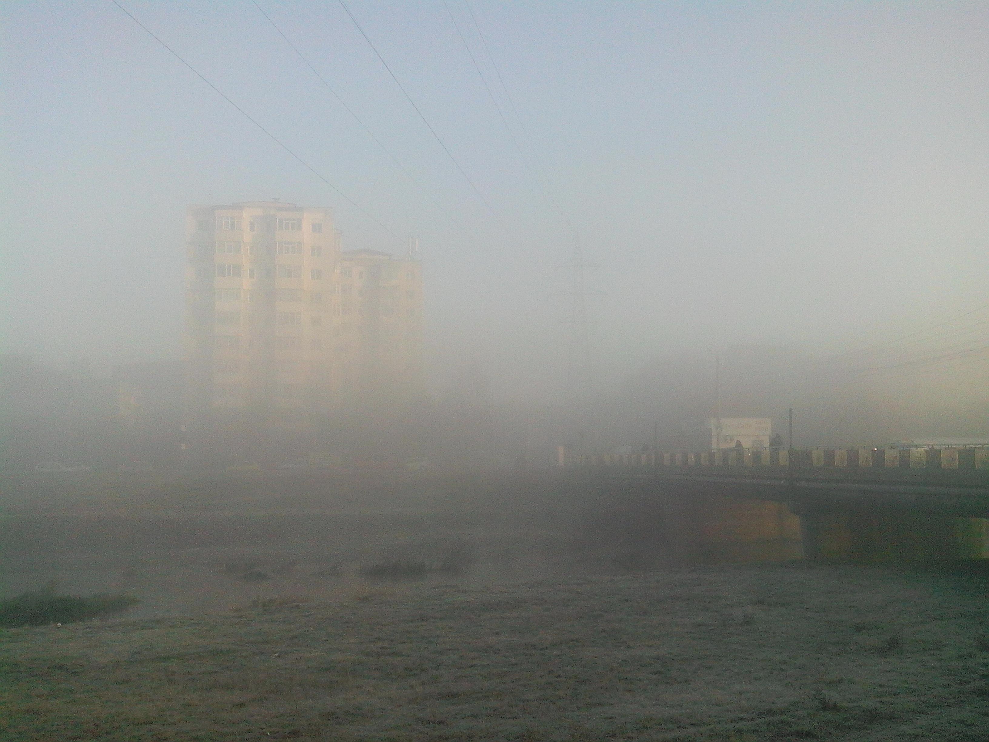 Iasul invaluit in ceata