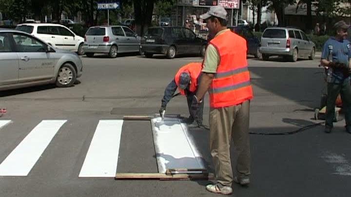 Atentie soferi! Strada Saulescu va fi inchisa pentru lucrari de marcaje rutiere