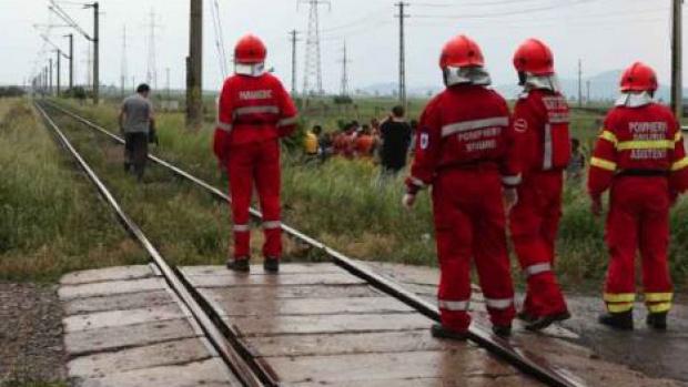 Groaznic accident de tren, in aceasta dimineata, la Iasi. Un tren a intrat in plin intr-un grup de oameni
