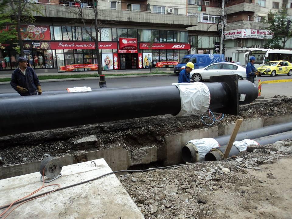 Veolia Energie Iași anunță lucrări pentru remedierea unei avarii la Magistrala 2
