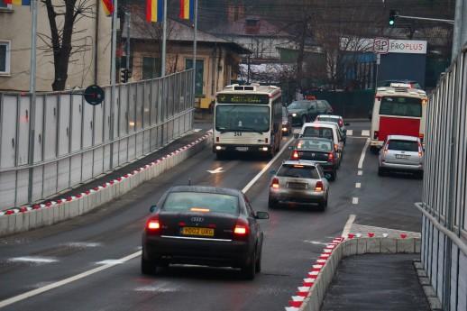 Restrictii de acces si limitari de viteza pe zeci de strazi din Iasi