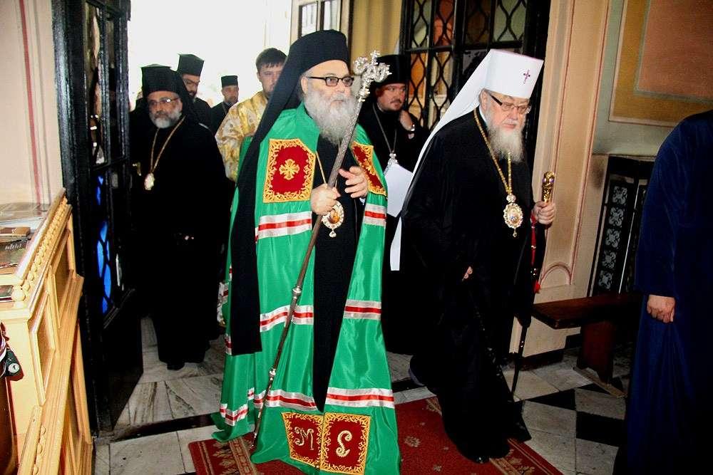 Patriarhul Antiohiei si al Intregului Orient în vizită în Mitropolia Moldovei și Bucovinei
