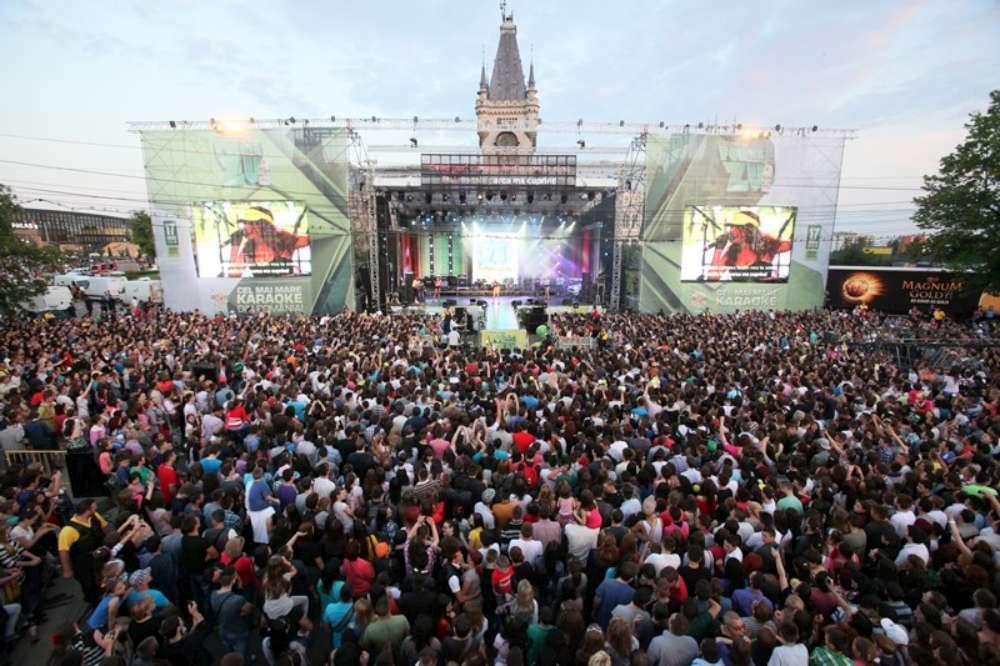 Sărbătorile Iasului 2016: Concerte reprogramate din cauza vremii neprielnice