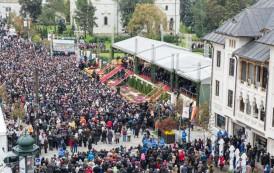 Programul sărbătorii hramului Sfintei Cuvioase Parascheva. Moaștele Sfântului Ierarh Spiridon, Episcopul Trimitundei, aduse la Iaşi