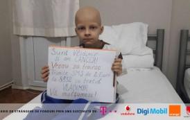 Cancerul îl poate răpune! La doar 8 ani, Vladimir duce o luptă între viaţă şi moarte!