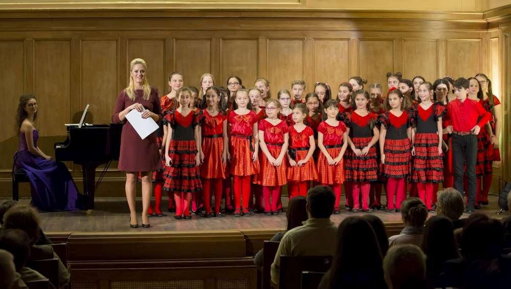 Recital al Corului de Copii Juniorii Operei, la Muzeul Literaturii Române din Iași
