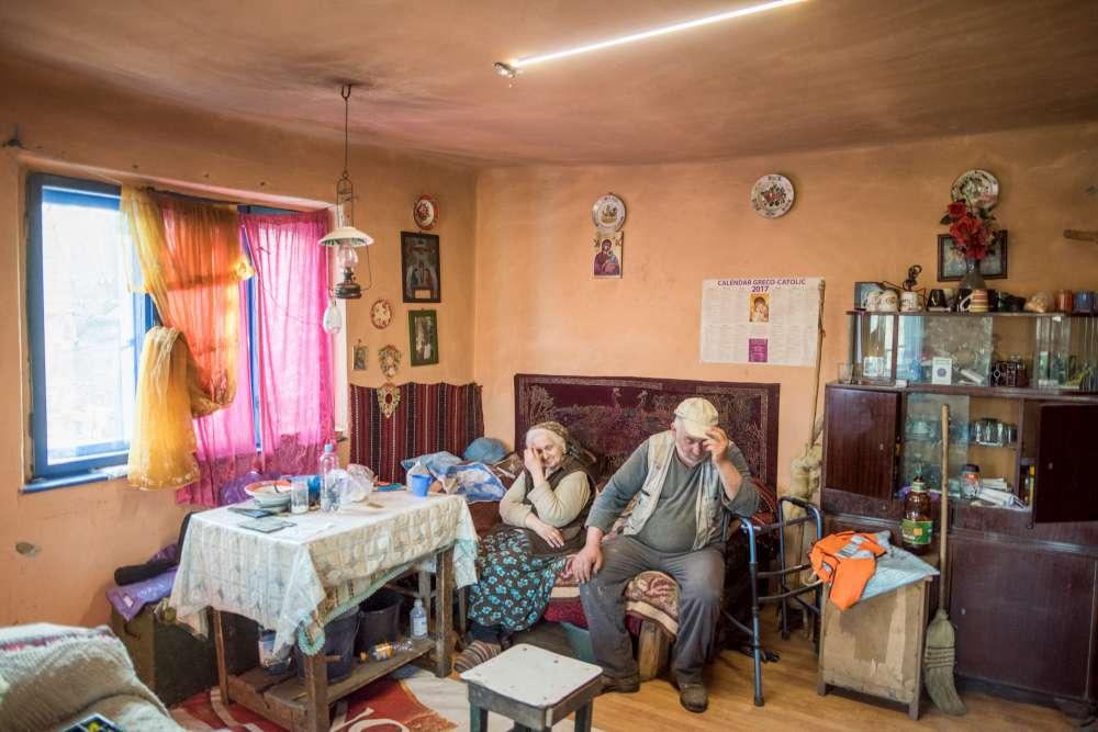 Marcel si Cornelia din Măleni. Satul cu doua suflete