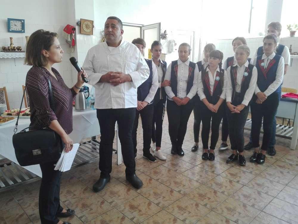 Proiect culinar international România – Israel la Colegiul Stefănescu