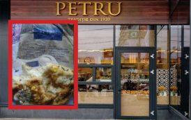 Pizza fara ingrediente si bon fiscal, la Simigeria Petru din Targu Cucu. Comert cu raspundere limitata fara de clienti