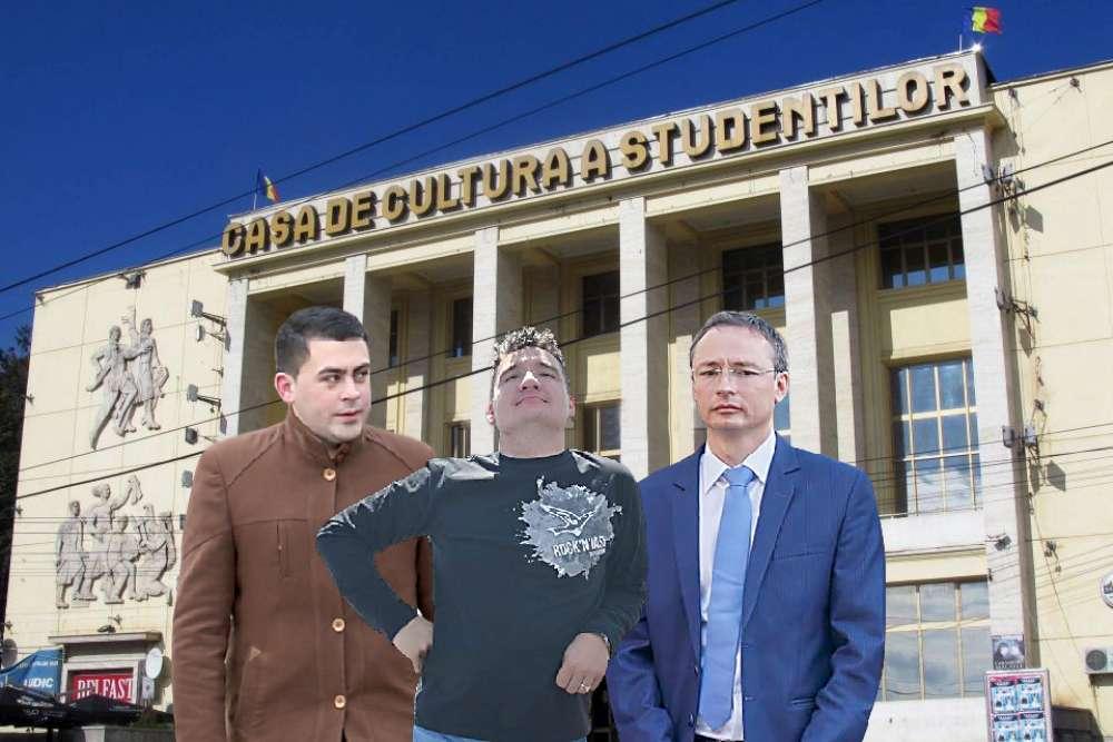 Cooperativa CCS. Liberalul Adi Caliman, stapan peste directorii de paie ai PSD. Jonglerii imobiliare cu spatiile CCS Iasi