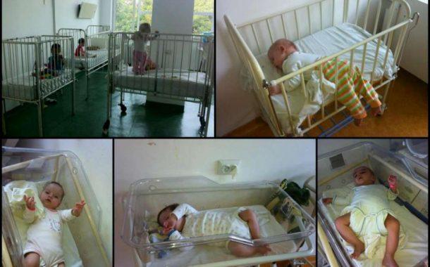 Ajutor pentru copiii care nu exista. Sectie de detentie pentru copiii abandonati in maternitatile Iasului