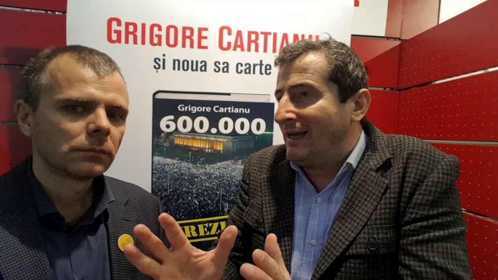 Lansare de carte Grigore Cartianu la Iasi: de la crimele Revolutiei la fenomenul #Rezist