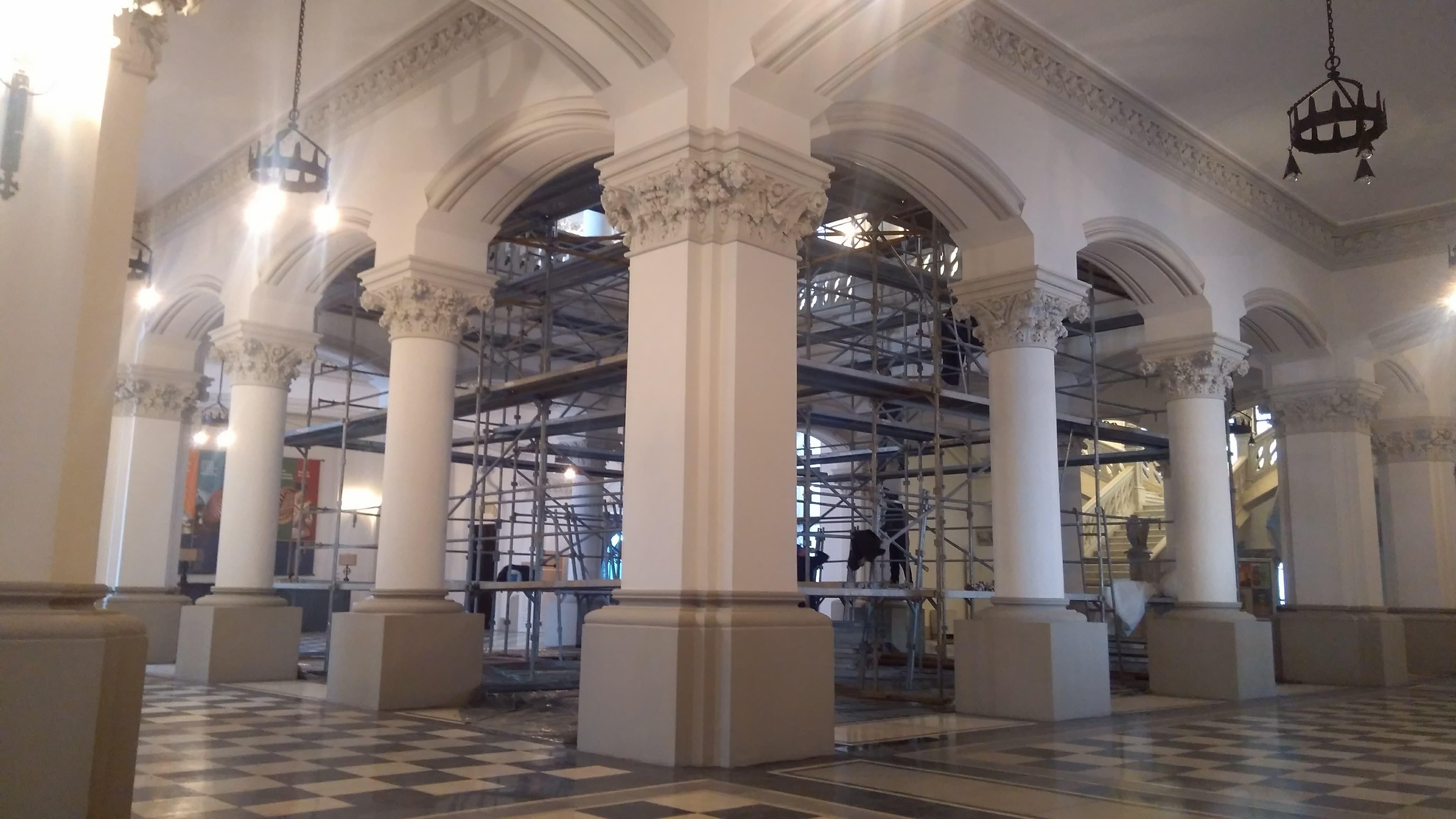 Alerta la Palatul Culturii, dupa 2 ani de la receptia lucrarilor de 30 milioane euro! Probleme tehnice pana in ultima zi de garantie