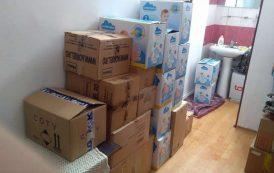 Campaniile umanitare AgoraPress: 25 de cutii cu ajutoare ajung la copiii saraci din parohia Lungani- Voinesti