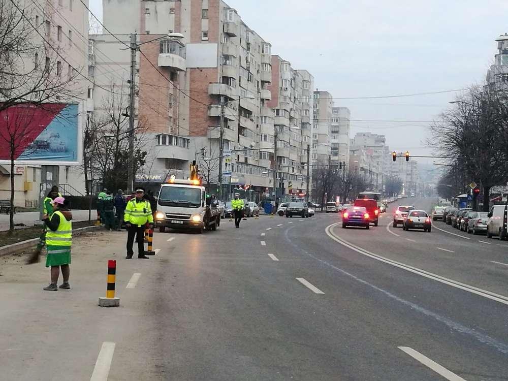 Programul de salubrizare a străzilor si refugiilor de transport public