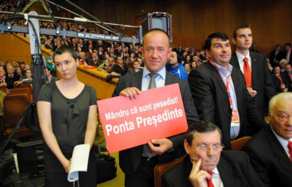 """Mihalache """"Mistreţul"""" umilit de Liviu Dragnea la Congresul PSD"""