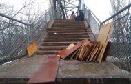 Dezastrul de pe pasarela de la Gara Iasi