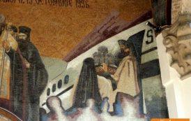 FOTO. Preotese coafate de nunta si avioane de pasageri pictate pe bisericile din Iasi