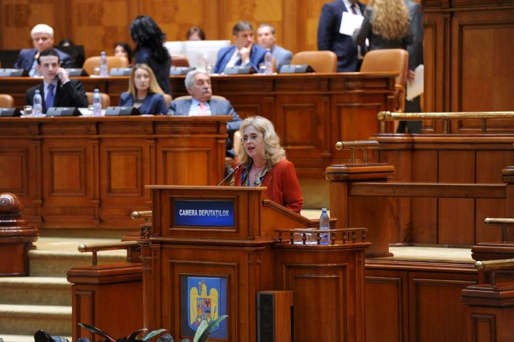 Deputatul Camelia Gavrilă atrage atenţia asupra crizei resurselor umane înalt calificate – cauze, vulnerabilităţi şi soluţii
