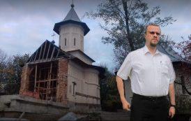 """""""Satana"""" a lasat enoriasii din Valea Lupului fara loc de rugaciune. Biserica distrusa de 5 ani de zile, slujbe facute in drum"""