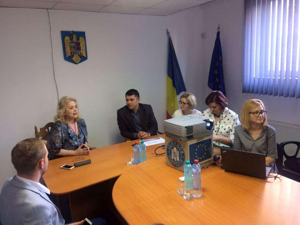 O nouă experienţă pentru studenţii îndrumaţi de Camelia Gavrilă în cadrul programului Şcoala Politică Iaşi XXI