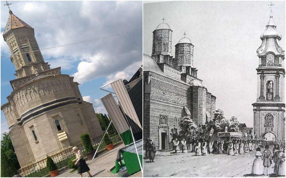 Macelul istoriei, opera distructiva a primarului Chirica. Turnul cu ceas de pe pietonal, aruncat la cosul istoriei pentru o mana de fiare vechi