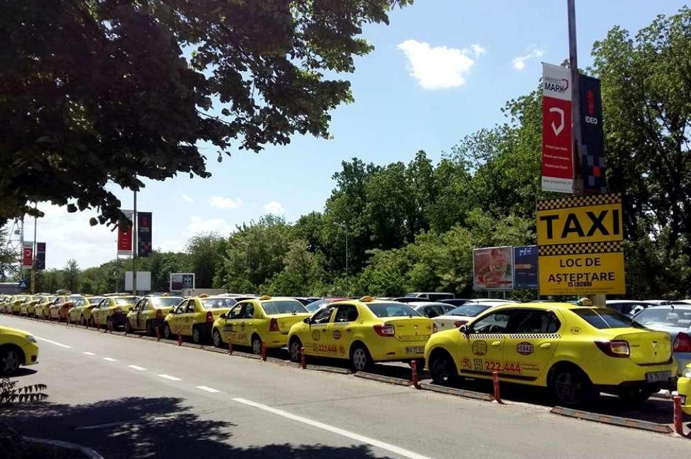 Taximetristii paralizeaza circulatia in centrul Iasului. Ampla actiune de protest in zilele de 13 si 14 februarie