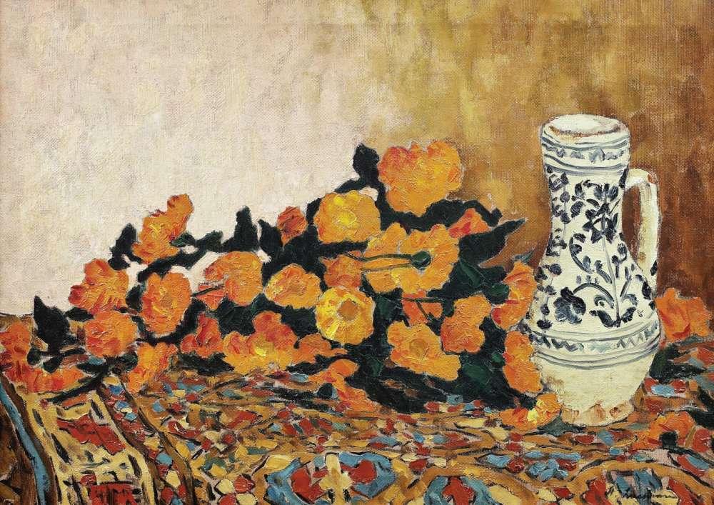 O lucrare a lui Stefan Luchian, pentru prima oară în expunere publică dupa 100 de ani