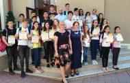 EleviI ieseni premiați de Direcția Generală de Educație, Tineret și Sport din Municipiul Chișinău