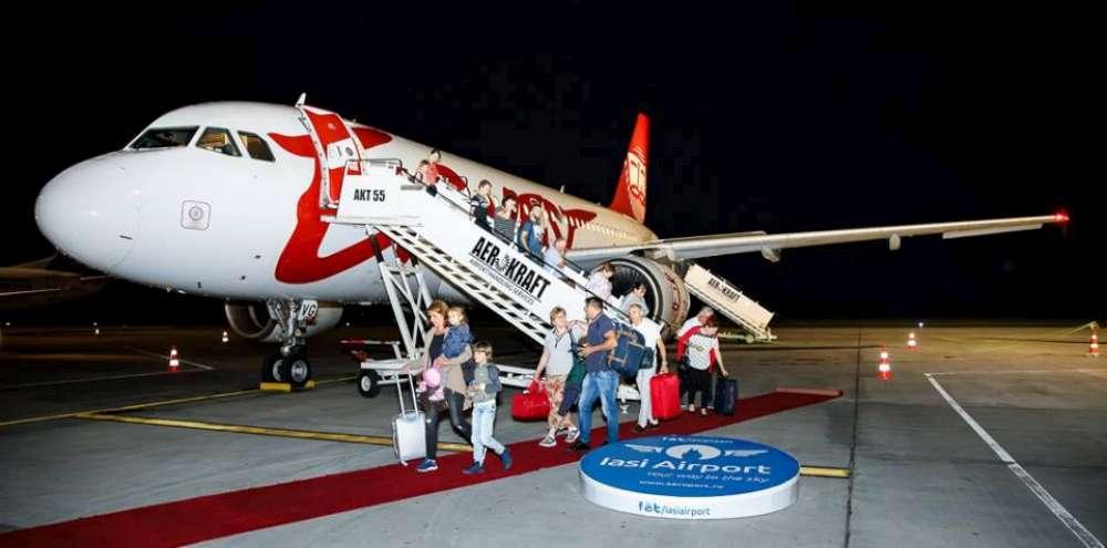 Ernest Airlines sisteaza toate operatiunile pe Aeroportul Iasi, dupa doua luni de la lansare