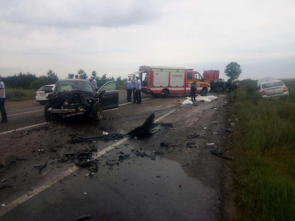 Tragedie la intrarea in Iasi! Trei morti in urma unui groaznic accident la ieșirea din Lețcani spre Podu Iloaiei