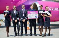 A doua aeronava Wizz Air alocata pentru Iasi, sapte noi rute lansate catre Billund, Bruxelles Charleroi, Dortmund, Eindhoven, Malmo, Paris Beauvais și Salonic