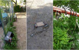 Imaginile dezastrului. Parcurile de joaca din Iasi, pericole publice! Copiii iesenilor tratati ca niste animale de catre administratia Chirica