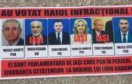 Parlamentarii ieseni care au votat in favoarea infractorilor