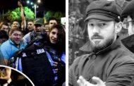 Mărturia protestatarului cu sapca care a protejat-o pe femeia-jandarm cu propriul corp ca sa nu fie linsata