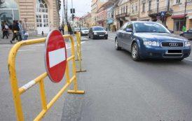 Restricții de circulație pe strada Crihan timp de trei zile