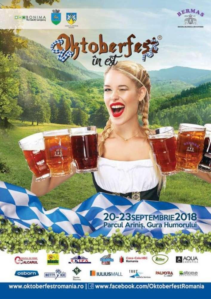 Regalul berii bucovinene la Oktoberfest-ul de la Gura Humorului