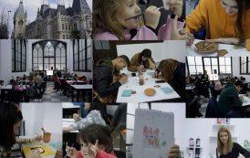 Ateliere de pictură pentru copii, la Palatul Culturii