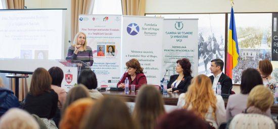 Ziua Antreprenoriatului Feminin și a Implicării Sociale a fost marcată la Iași