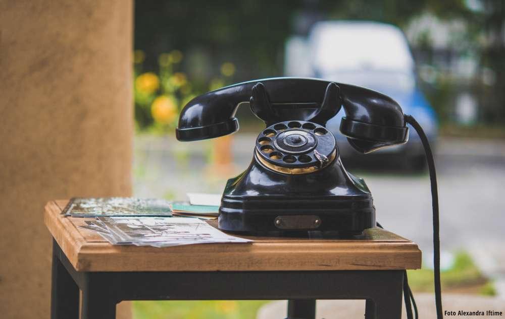 Telefonul Amintirilor la Bojdeuca lui Ion Creangă
