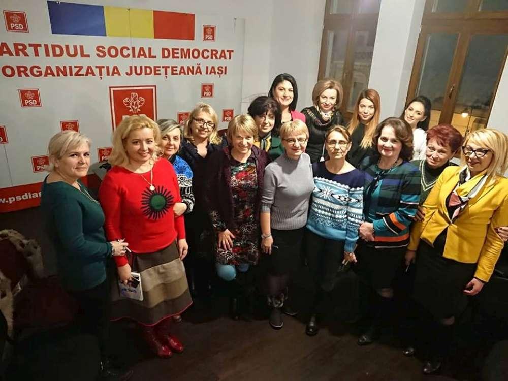 Femeile social democrate din tara se aduna la Palas Iasi pentru dezbaterea alegerilor europene