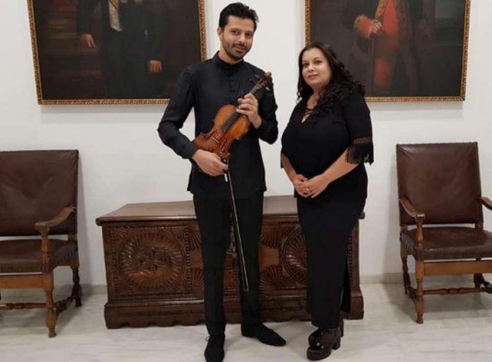 Răzvan şi Andreea Stoica, în concert la Palatul Culturii